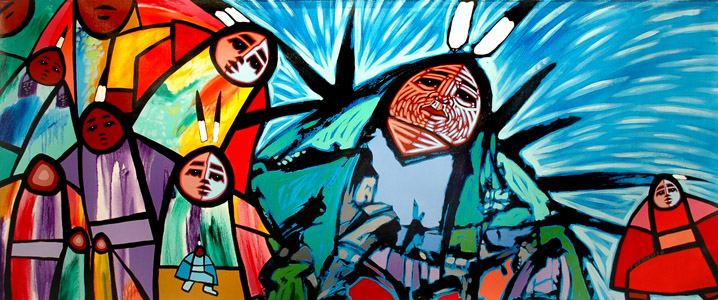 First Nations Fine Art Paintings By Jerry Whitehead