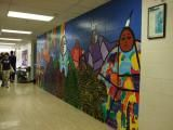 Chief Dan George Middle School Mural