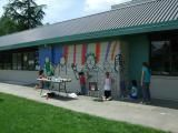 West Langley Elementary School Mural
